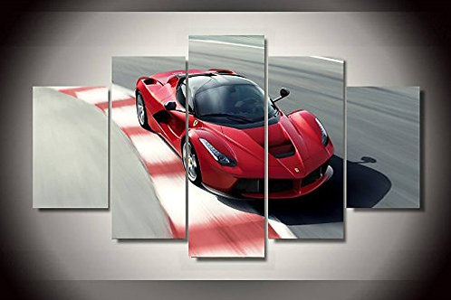 Ferrari - 5 Piece Canvas Set