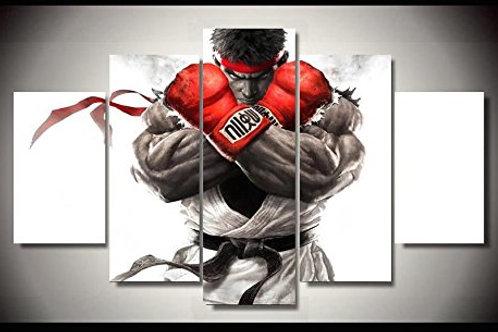 Street Fighter - 5 Piece Canvas Set
