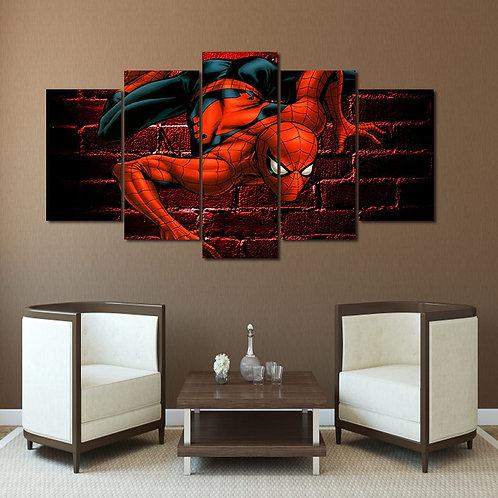 Spiderman Comics - 5 Piece Canvas Set