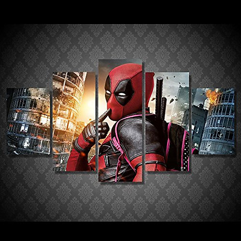 Deadpool - 5 Piece Canvas Set