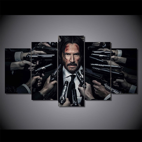 John Wick - 5 Piece Canvas Set