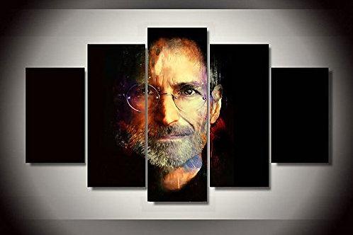 Steve Jobs - 5 Piece Canvas Set