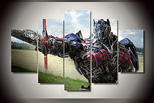 Optimus Prime Transformers - 5 Piece Canvas Set