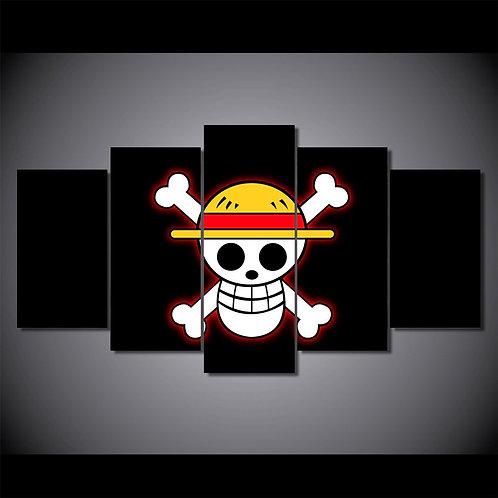 One Piece Flag - 5 Piece Canvas Set