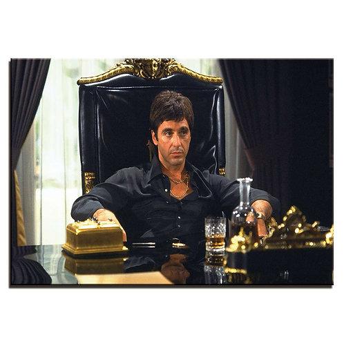Scarface Al Pacino - 1 piece canvas