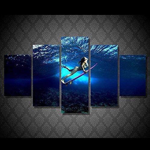 Surf - 5 Piece Canvas Set
