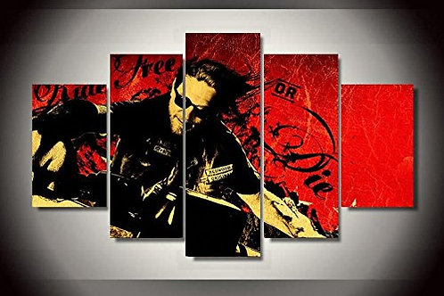 Sons Of Anarchy - 5 Piece Canvas Set