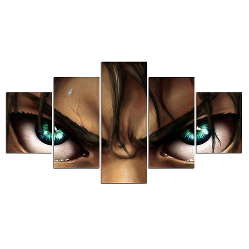 Return of the titans print canvas 5 pieces