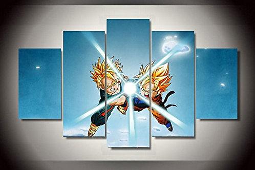 Dragon Ball Z - 5 Piece Canvas Set