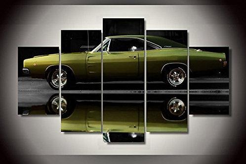 Dodge Charger - 5 Piece Canvas Set