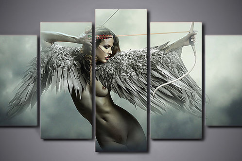 Angel - 5 Piece Canvas Set