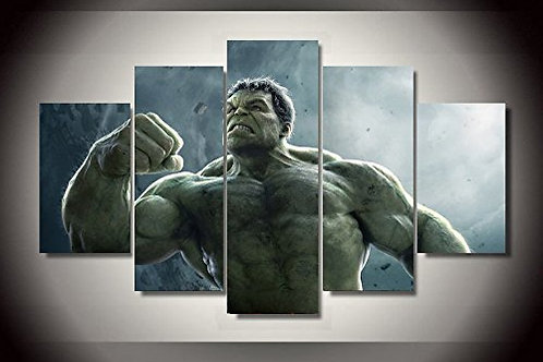 Hulk - 5 Piece Canvas Set