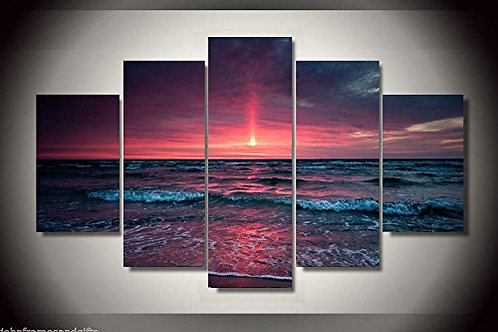Sunset - 5 Piece Canvas Set