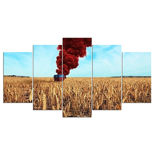 PUBG video game - 5 Piece Canvas Set