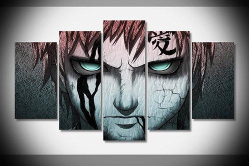 Naruto - Shippuden - 5 Piece Canvas Set