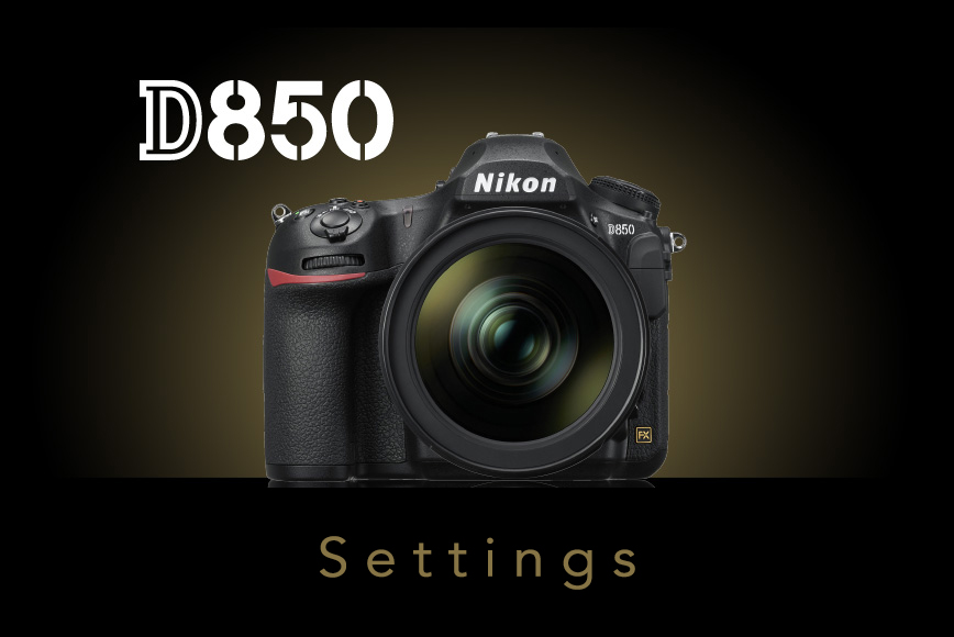 See my favorite Nikon D850 settings and download them for free!