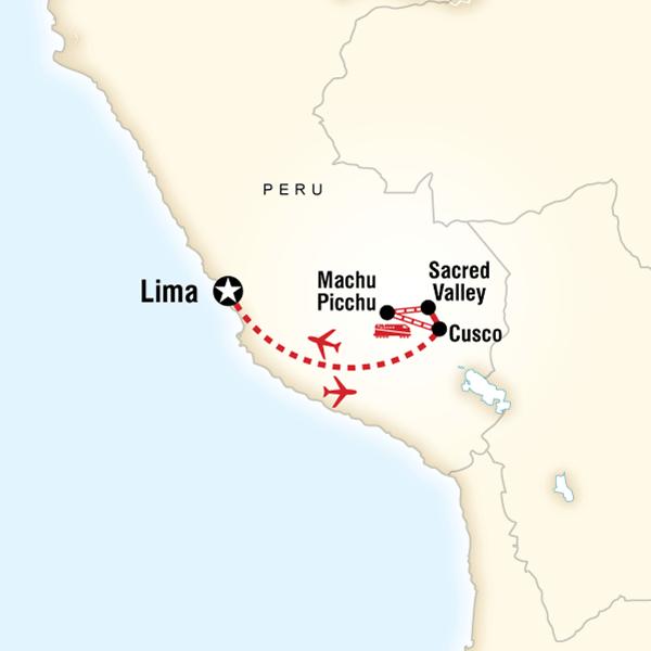 Itinerary-map