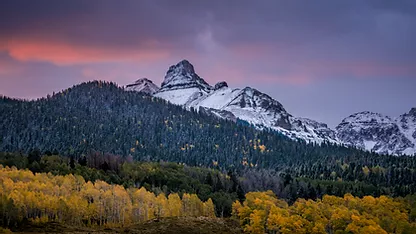 fall color in colorado photography