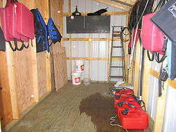 Dogfly Lake outpost storage shed.JPG