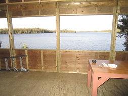 Kinewan Lake outpost screened porch.JPG