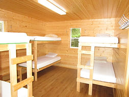 Highrock Lake cabin beds.JPG
