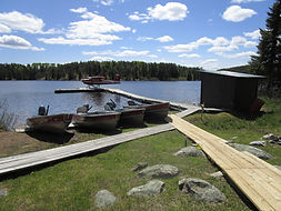 Remote fly-in fishing outpost cabin.JPG