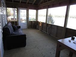Kinewan Lake  outpost porch.JPG