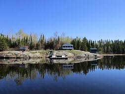 Jones Lake fly in fishing outpost.JPG