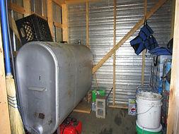 Highrock Lake Outpost cabin storage.JPG