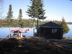Kinewan Lake dock.JPG