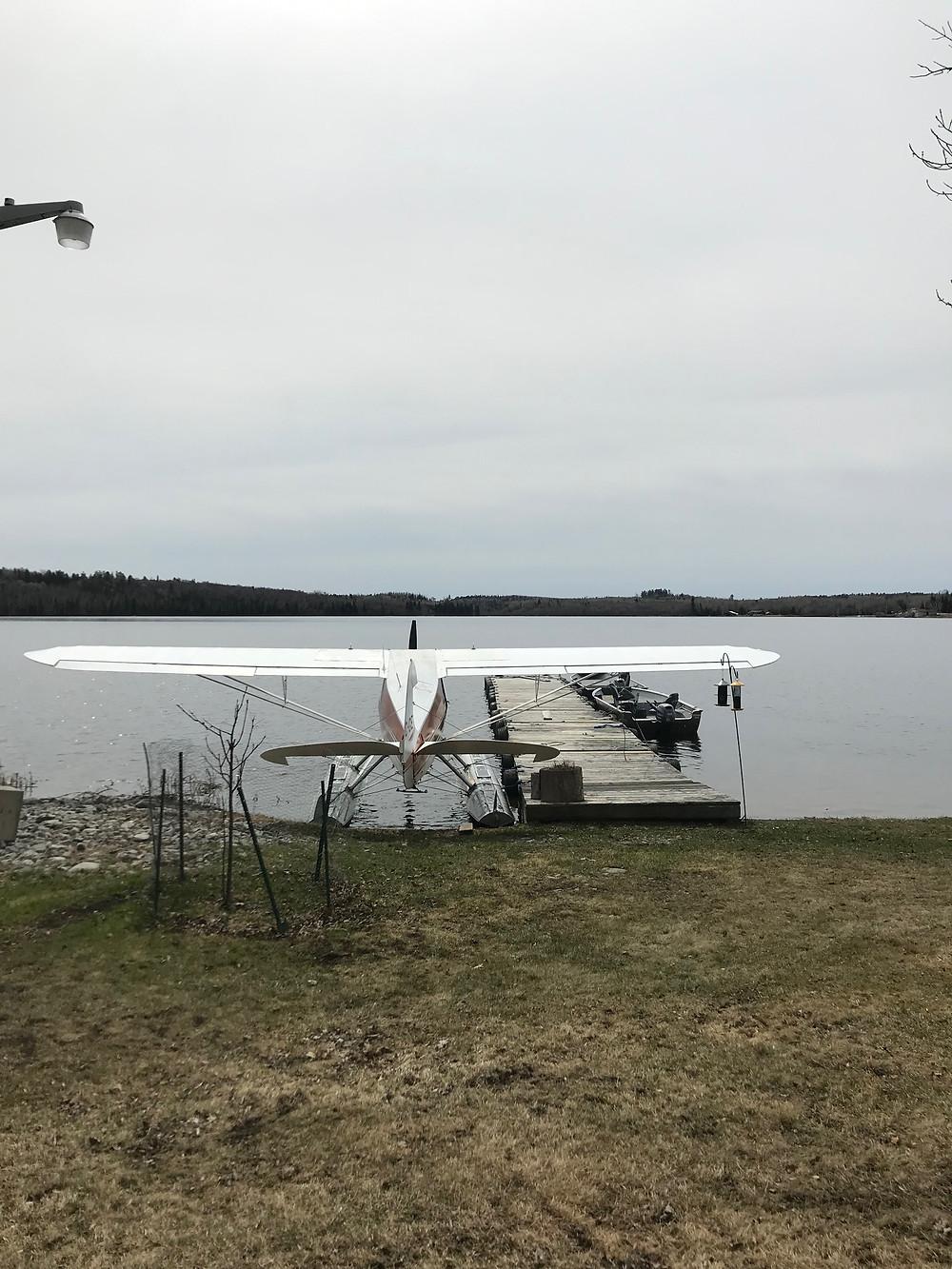 Piper PA12 floatplane