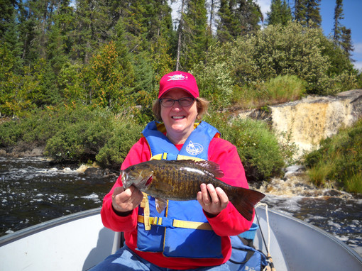 Fly in smallmouth bass fishing.JPG