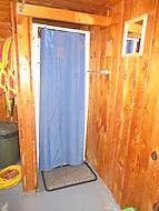 Eric Lake cabin shower.JPG
