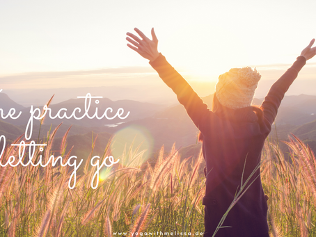 The practice of letting go