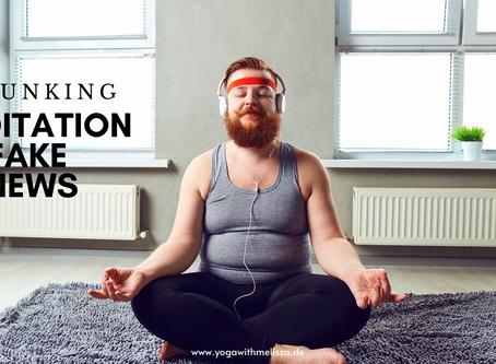 Debunking Fake News on Meditation