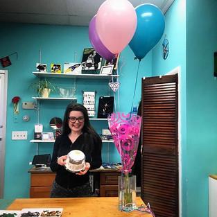 Happy birthday to Maya! #employeeofthemo