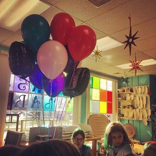 Birthday celebrations at #theglassbar ar