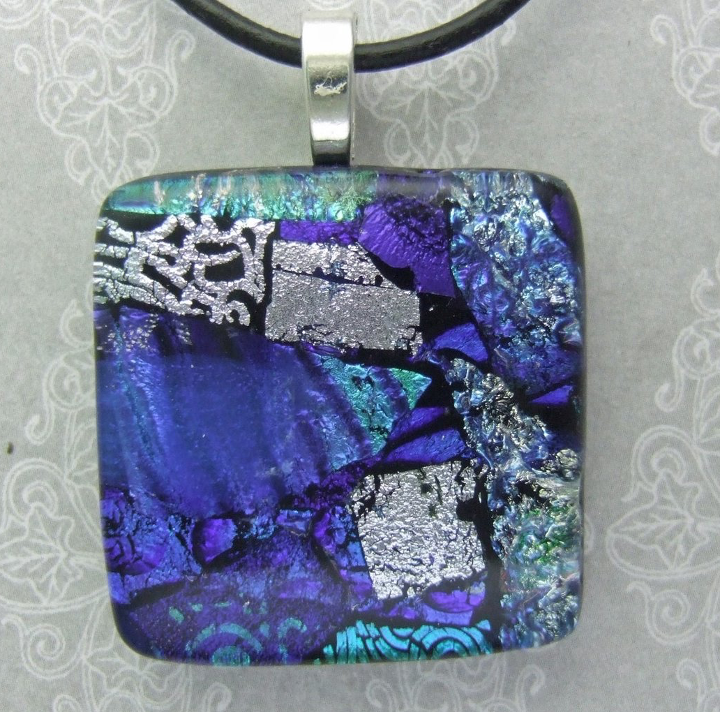 Dichroic Pendant w_ layers