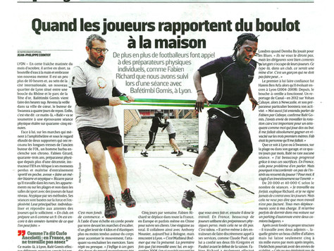 Reportage Journal L'equipe