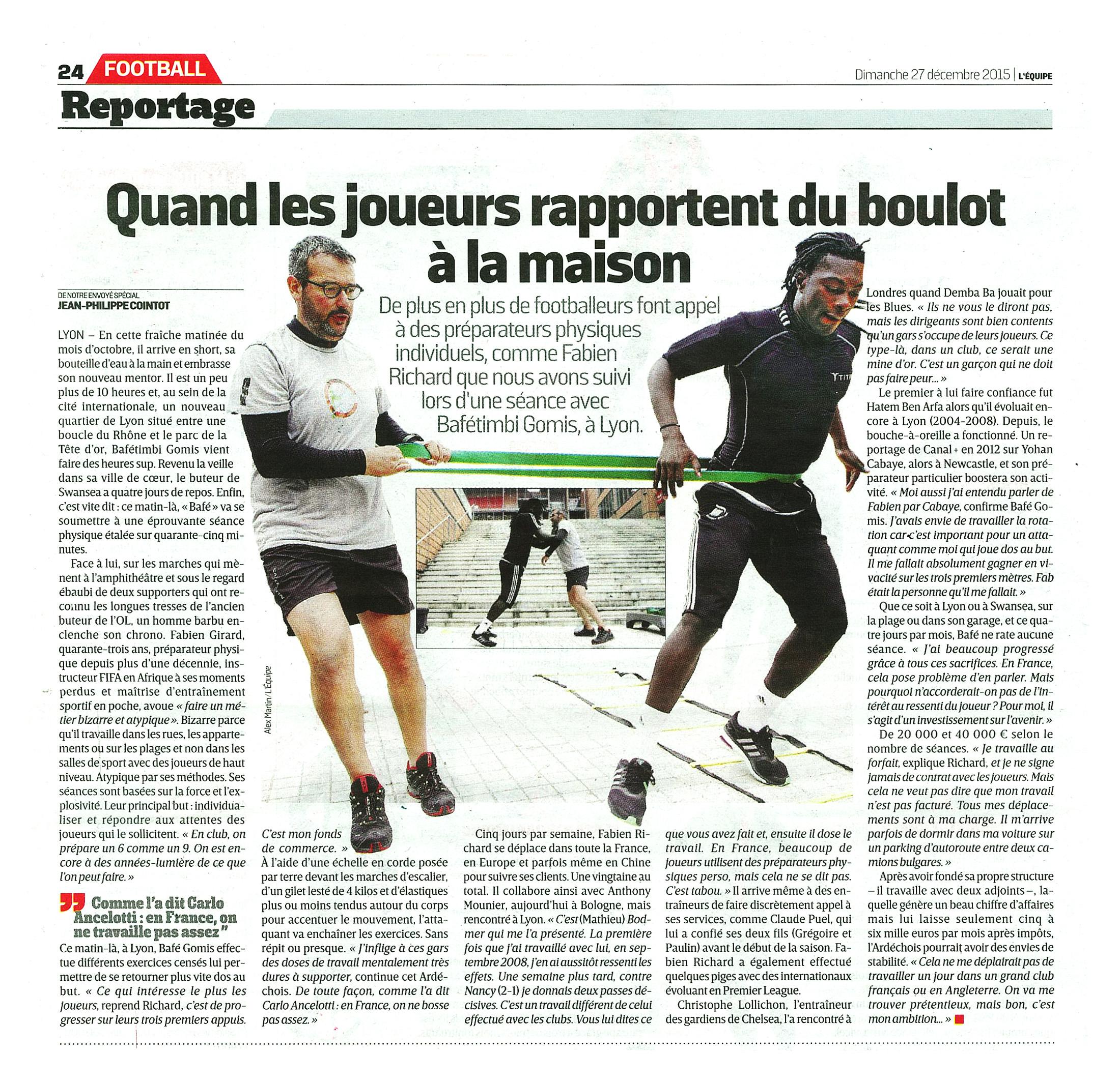 article L'Équipe