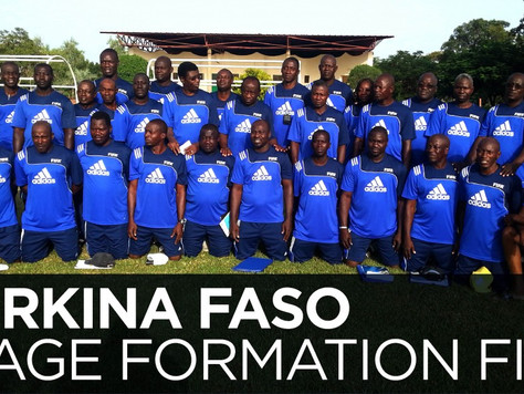 Instructeur FIFA en Afrique