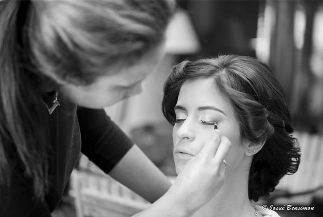 Maquillage, mise en beauté