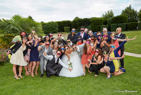 Mariage,photo de groupe,invités