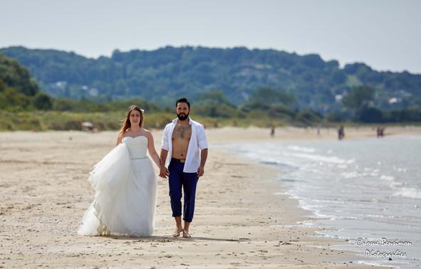 Trash the dress - Honfleur plage