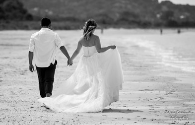 Mariage,Trash the dress,plage,Honfleur