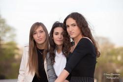 Le trio - Noa, Lee et Oriane