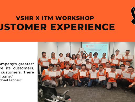 A WEEK OF CUSTOMER EXPERIENCE WITH VSHRxITM