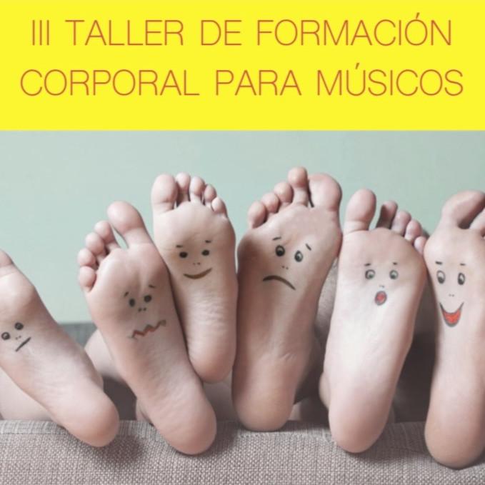 III TALLER FORMACIÓ CORPORAL PARA MÚSICOS
