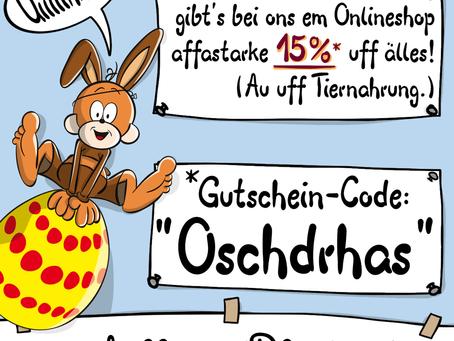 15%-Aktion zu Oschdra