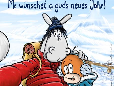 Mr wünschet a guds neues Johr!